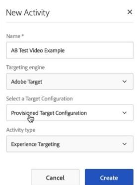 aem customer experience soft ab testing