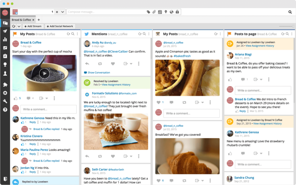 social media automation tool hootsuite
