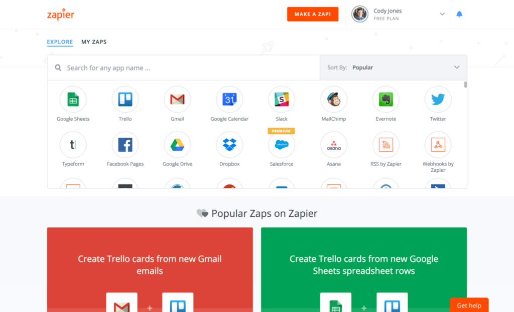 zapier screenshot