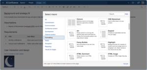 confluence features screenshot
