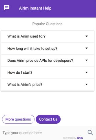 airim instant help