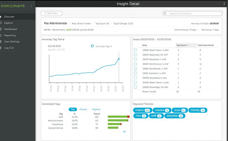 Inmoment customer experience software insights