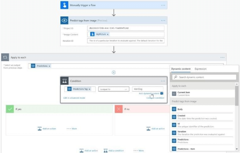 Microsoft Flow workflow management