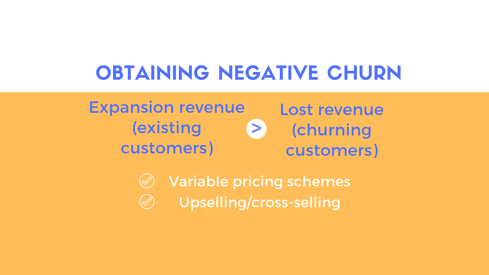 Obtaining negative churn - saas metrics