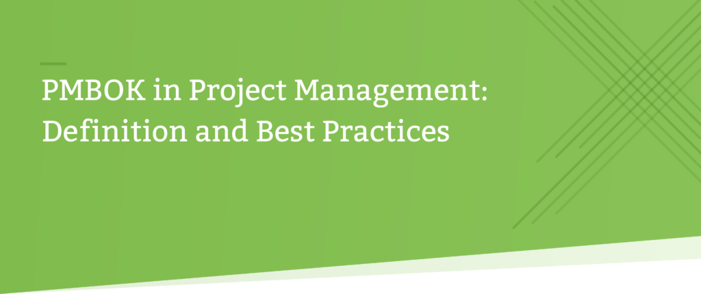 pmbok project management header