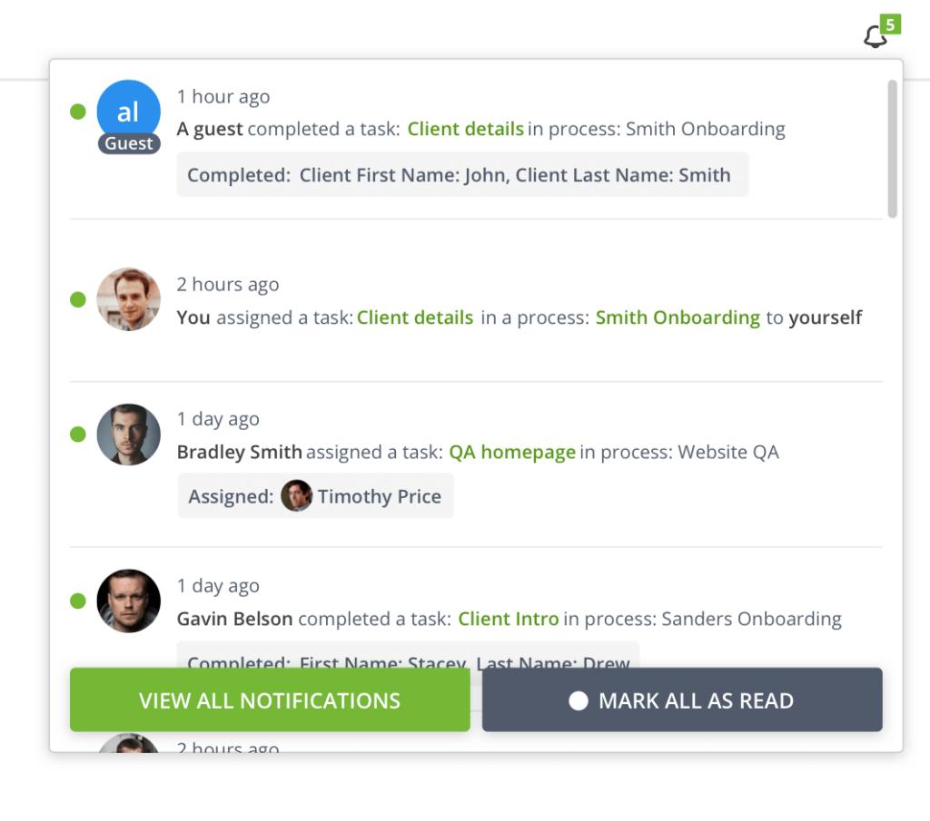 workflow engine task notification